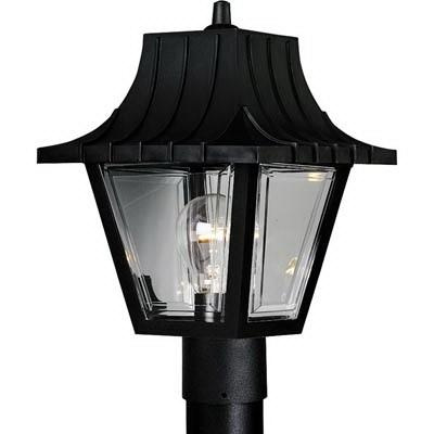 Progress lighting p5414 31 1 light post lantern 60 watt 120 volt progress lighting p5414 31 1 light post lantern 60 watt 120 volt textured black aloadofball Gallery