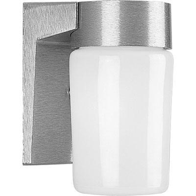 Progress Lighting P5511-16 1-Light Wall Sconce 100 Watt 120 Volt Satin Aluminum Powder Coated