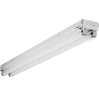 Lithonia Lighting TZ232-MV 2-Light Surface/Suspended Mount Tandem Channel Low Profile Strip Light 32 Watt 120 - 277 Volt High Gloss Baked White Enamel