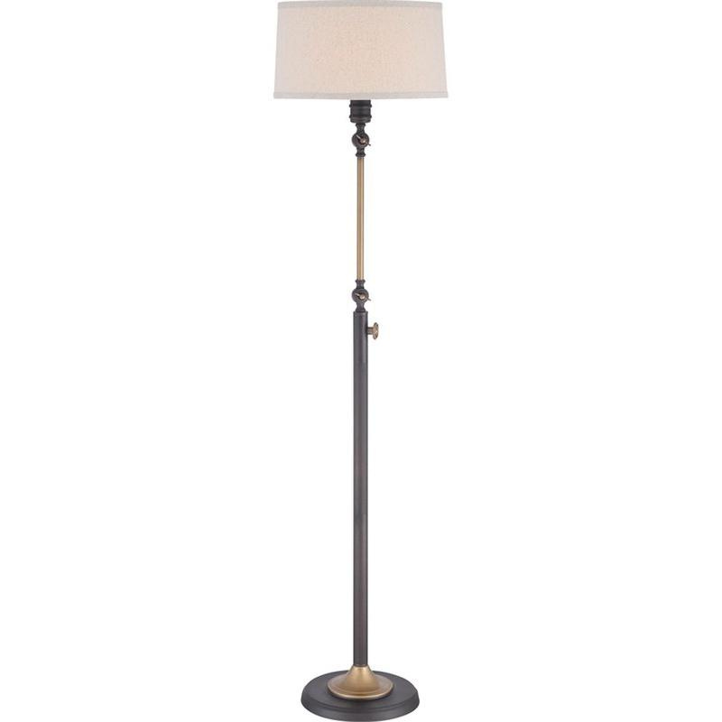 Quoizel Lighting Q1892foi Traditional 1 Light Portable Floor Lamp
