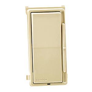 Leviton DSM10-1LZ 120 Volt AC at 60 Hz 1-Pole 3-Way Electro-Mechanical Magnetic Low Voltage Universal Dimmer White Ivory Light Almond Decora®