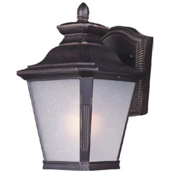 Maxim Lighting 1123FSBZ 1-Light Outdoor Wall Lantern 60 Watt 120 Volt Bronze Knoxville