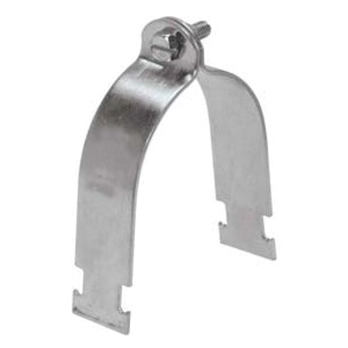 Versabar VP-1400-HDGA Hot Dip Galvanized 11 Gauge Steel Standard Pipe Clamp 4 Inch