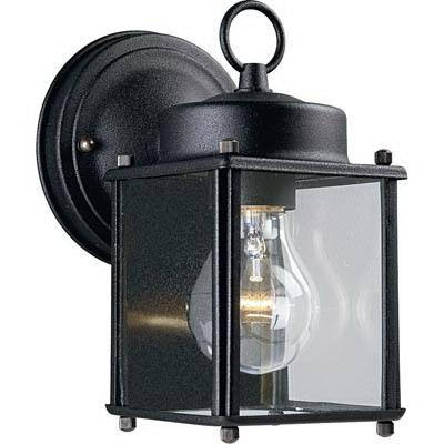 Progress Lighting P5607-31 1-Light Coach Lantern 100 Watt 120 Volt Black Painted