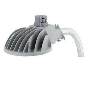 Hubbell Lighting DDL-9L1 Dusk To Dawn Clamp With Arm Mount Multi-Purpose LED Luminaire 39.5 Watt 120 Volt AC Powder Coated Gray