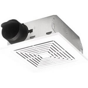 Nutone 671 ventilation fan 3 inch duct 70 cfm at 0 1 inch - Bathroom exhaust fan 3 inch duct ...