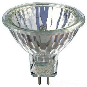 Philips Lighting 378026 MR16 Dichroic Reflector Halogen Lamp 20 Watt 2-Pin GU5.3 Base 240 Lumens 100 CRI 3000K Warm White