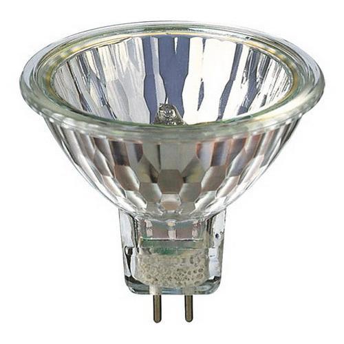 Philips Lighting 378042 MR16 Dichroic Reflector Halogen Lamp 50 Watt 2-Pin GU5.3 Base 790 Lumens 100 CRI 3000K