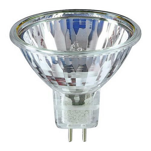 Philips Lighting 378075 MR16 Dichroic Reflector Halogen Lamp 50 Watt 2-Pin GU5.3 Base 800 Lumens 100 CRI 3000K