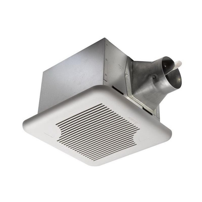Delta SIG80 Single-Speed Ventilation Fan 4 Inch Duct 80 CFM at 0.1 Inch Static Pressure
