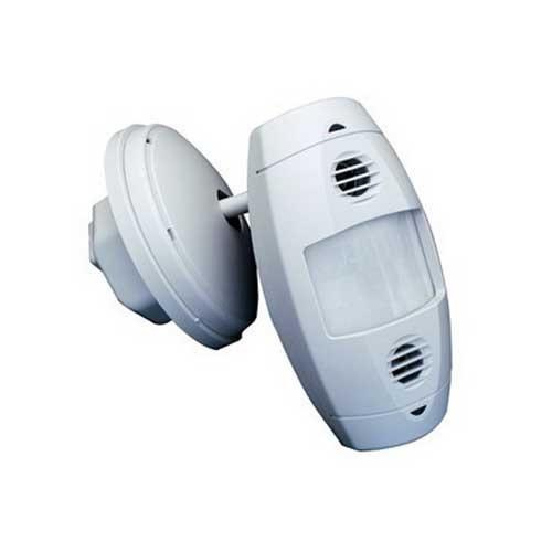 Leviton ODW12-MDW Multi-Technology PIR/Ultrasonic Line Voltage Sensor 1200 Sq-ft 120 - 277 Volt AC Off White