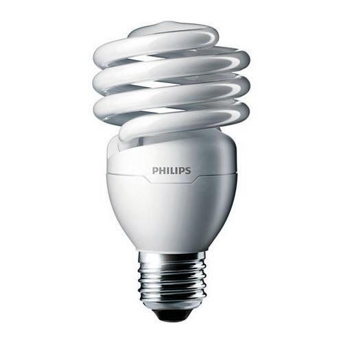 Philips Lighting 414052 EL/mdTQS T2 Energy Saver Compact Fluorescent Lamp 23 Watt E26 Medium Base 1600 Lumens 81 CRI 3500K White
