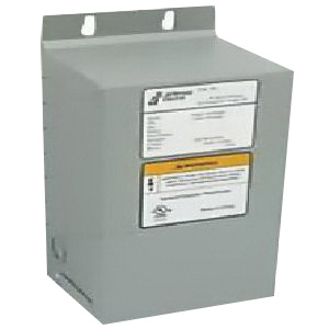 Jefferson Electric 411-0071-000 1-Phase General Purpose Encapsulated Dry Type Transformer 240/480 Volt Primary 120/240 Volt Secondary 1 KVA