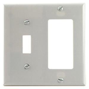 100 pack of White metal jumbo oversized duplex metal wall plug covers