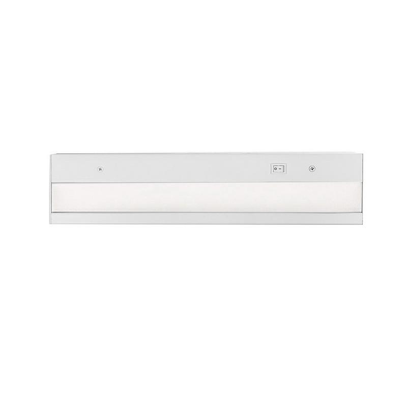 WAC Lighting BA-ACLED24-927-WT Pro BA-ACLED Series LED Light Bar 15 Watt 120 Volt AC 2700K White Responsible Lighting® LEDme®
