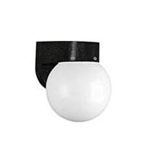 Progress Lighting P5813-31 1-Light Wall Sconce 60 Watt 120 Volt Black Polycarbonate Outdoor Polycarbonate Outdoor