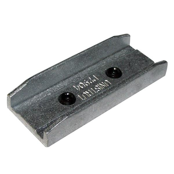 Unistrut P2904AL 1/4 Inch Cast Aluminum Straight 2 Hole In-Channel Joiner