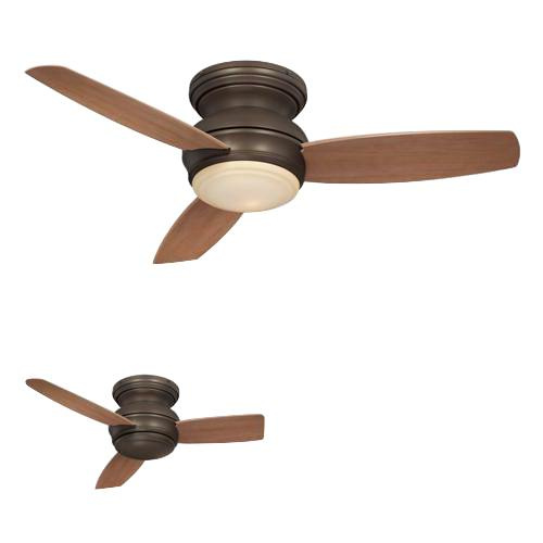 Minka-Aire F593-ORB Traditional Concept Ceiling Fan With Light 44 Inch 3 Blade 3 Speed Oil Rubbed Bronze