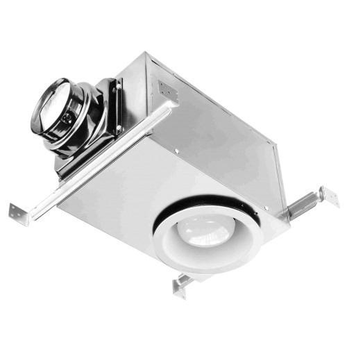 Ceiling Exhaust Fan Light Mount Bathroom Ventilation Bath: Orbit Industries OE80RL Recessed Fan With Light 80 CFM