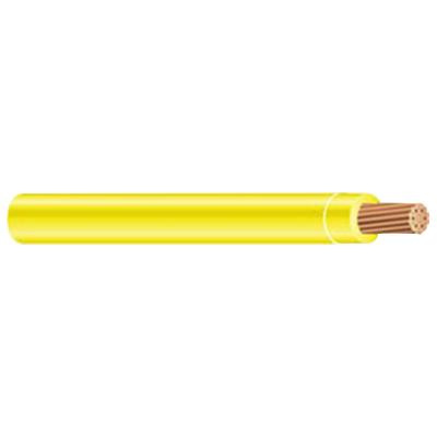 THHN-8-STRD-YEL-500SP Stranded Copper THHN Cable 8 AWG 500 ft Reel Yellow