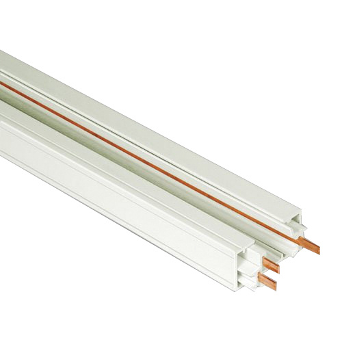 Elite Lighting Et8 B 1 Circuit Track 8 Ft Length Extruded Aluminum Black For 3 Wire Systems