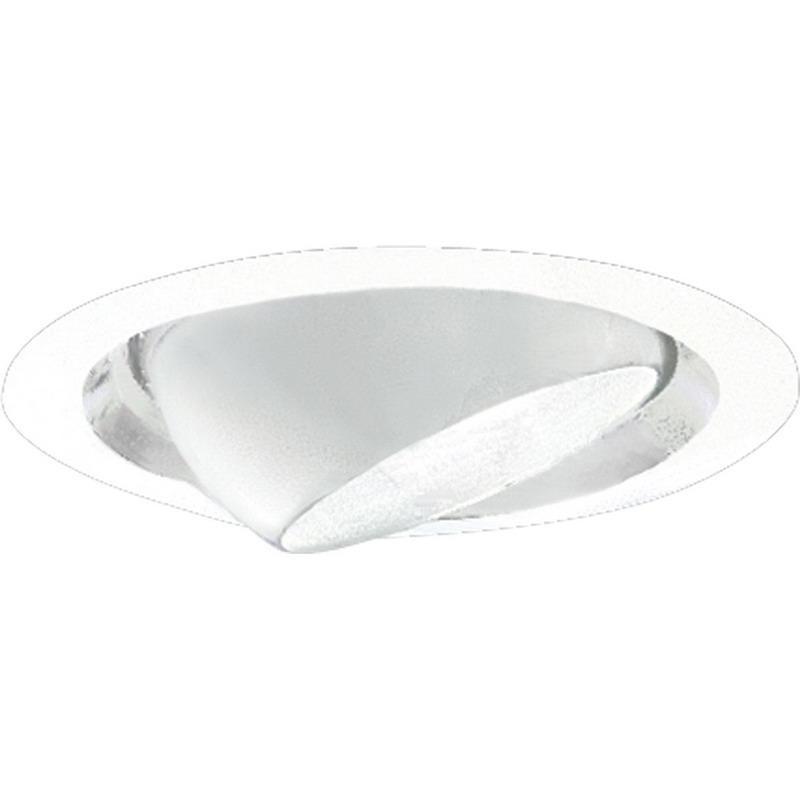 Progress Lighting P6676-29 IC/Non-IC 6 Inch Round Recessed Eyeball Trim 1-Light PAR30/R30 White