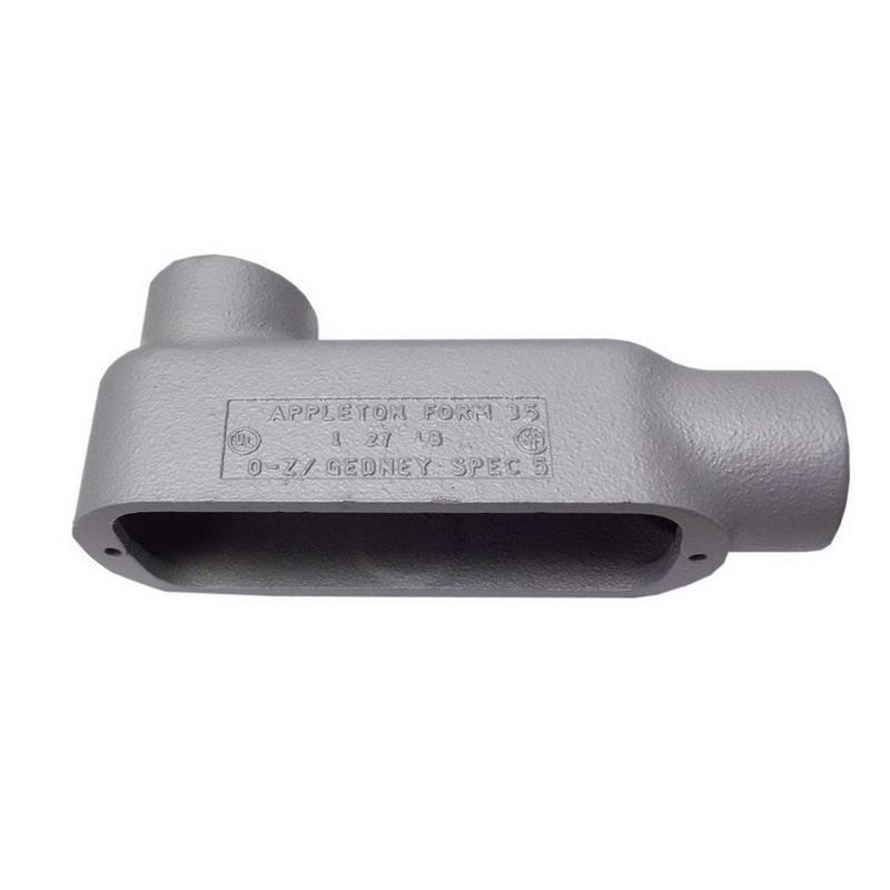 Appleton LB150-M Malleable Iron Type LB Conduit Outlet Body 1-1/2 Inch
