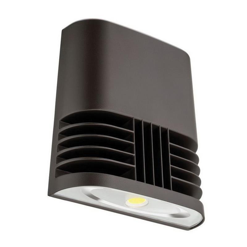 Lithonia Lighting OLWX1-LED-20W-40K-120-PE-M4 Box/Wallmount Wall Luminaire 20 Watt 120 Volt Dark Bronze