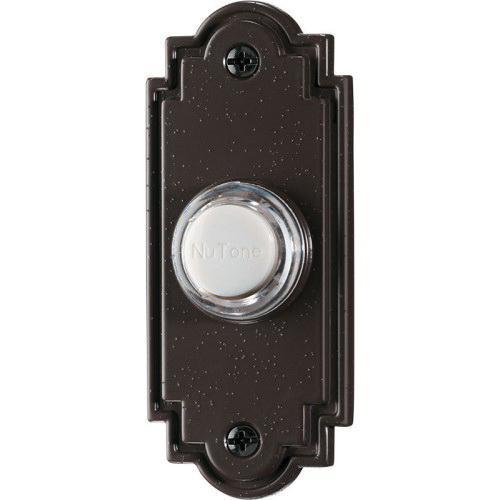 Nutone Pb15lbr Lighted Flat Door Chime