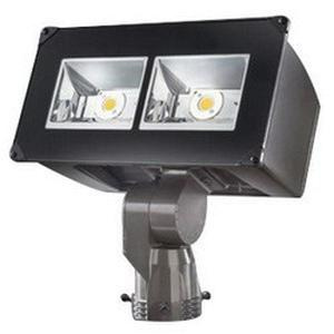 Cooper Lighting NFFLD-A40-S 1-Light Slip Fitter Mount High Efficiency Wide Distribution LED Flood Light 129 Watt 120 - 277 Volt Tgic Polyester Powder Coated Carbon Bronze Lumark®