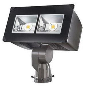 Cooper Lighting NFFLD-A25-S Slip Fitter Mount High Efficiency Wide Distribution LED Flood Light 85 Watt 120 - 277 Volt Tgic Polyester Powder Coated Carbon Bronze Lumark®