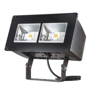 Cooper Lighting NFFLD-A40-T 1-Light Trunnion Mount High Efficiency Wide Distribution LED Flood Light 129 Watt 120 - 277 Volt Tgic Polyester Powder Coated Carbon Bronze Lumark®