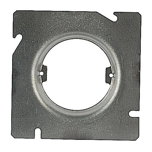 Thomas & Betts 601-CD Pre-Galvanized Steel Raised Square Box Ring 4-11/16 Inch x 4-11/16 Inch x 1-1/4 Inch 7.3 Cubic-Inch Steel City®