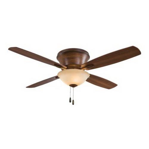 Minka-Aire F533-DK Mojo II Ceiling Fan With Light 52 Inch 4 Blade 3 Speed Distressed Koa