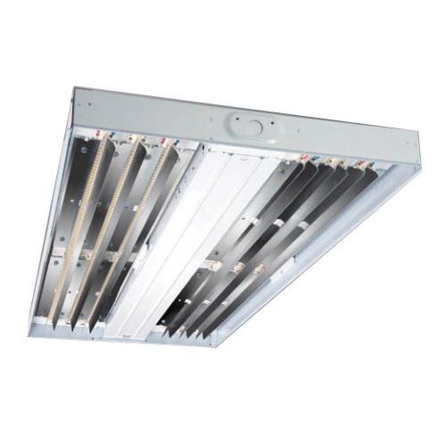Cooper Lighting HBLED-LD4-18-W-UNV-L840-CD2-U Suspended Mount HBLED Series Wide Distribution LED High Bay Fixture 152 Watt 120 - 277 Volt White Enamel Metalux™