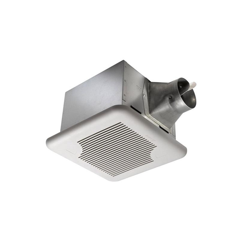 Delta SIG110 Single-Speed Ventilation Fan 4 Inch Duct 110 CFM at 0.1 Inch Static Pressure