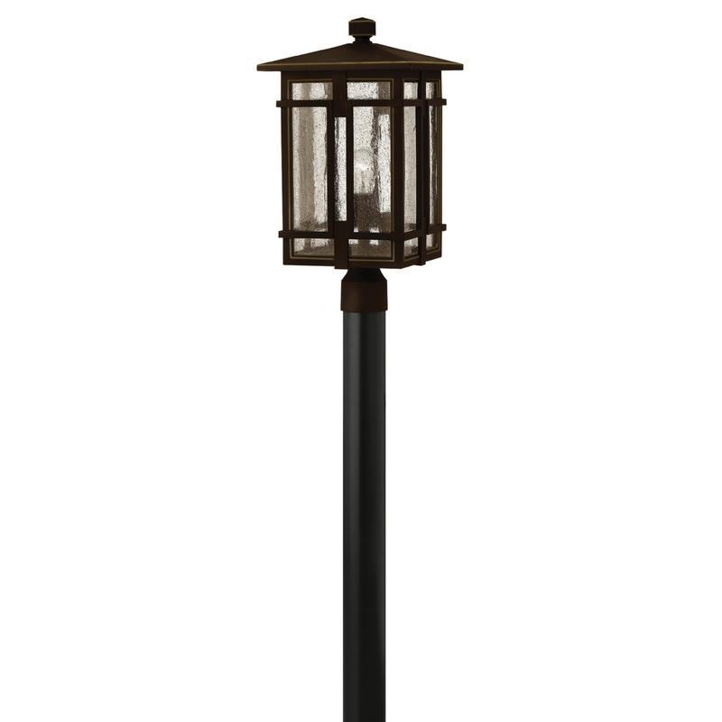 Hinkley Lighting 1961OZ 1-Light Outdoor Post Lantern 100 Watt 120 Volt Oil Rubbed Bronze Tucker™