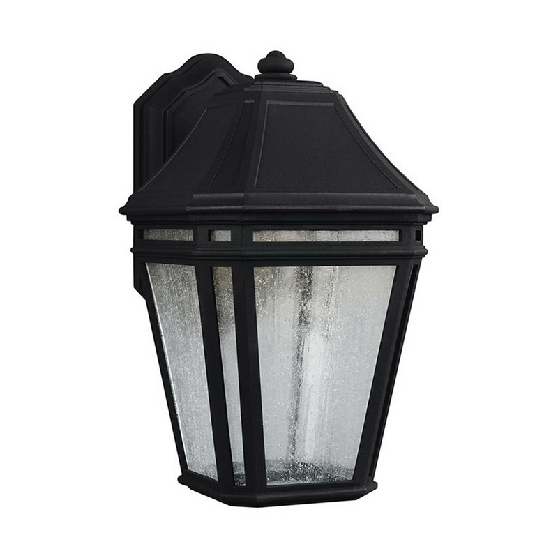 Murray Feiss OL11301BK-LED 1-Light LED Outdoor Sconce 14