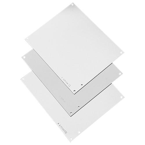 Hoffman A20P16 Polyester Powder Coated Steel Solid Panel 17 Inch x 13 Inch White