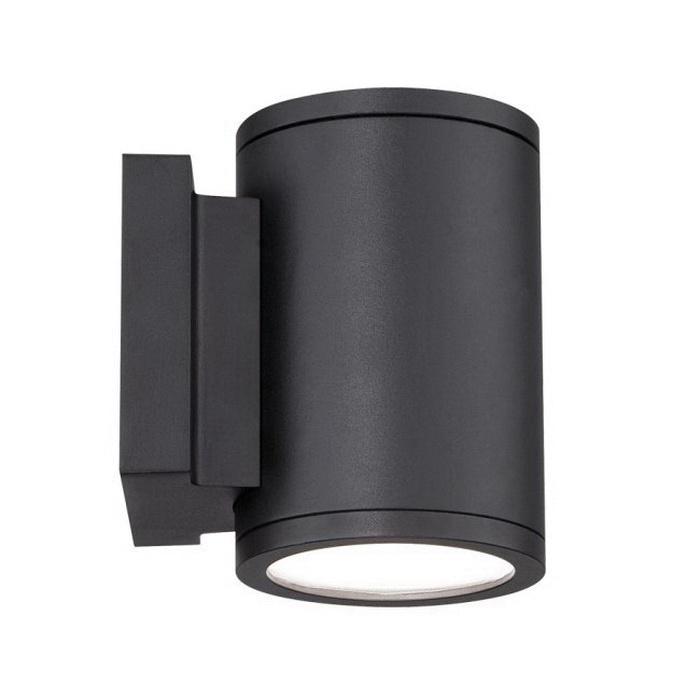 WAC Lighting WS-W2604-BK Wall Mount 2 LED Wall Sconce 30 Watt 120 - 277 Volt