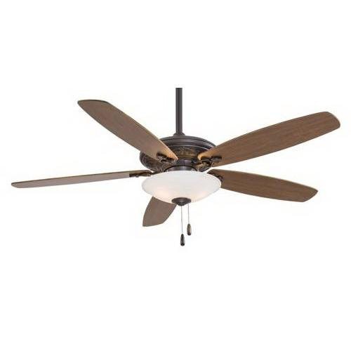Minka-Aire F622-ORB Traditional Mojo Ceiling Fan With Light 52 Inch 5 Blade 3 Speed Oil Rubbed Bronze