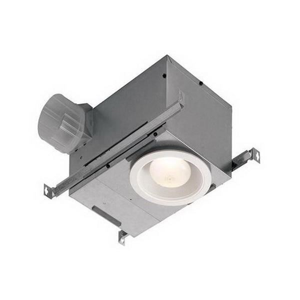 Nutone 744LED Recessed Bath Fan With Light 120-Volt AC 70