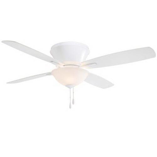 Minka-Aire F533-WH Mojo II Ceiling Fan With Light 52 Inch 4 Blade 3 Speed White