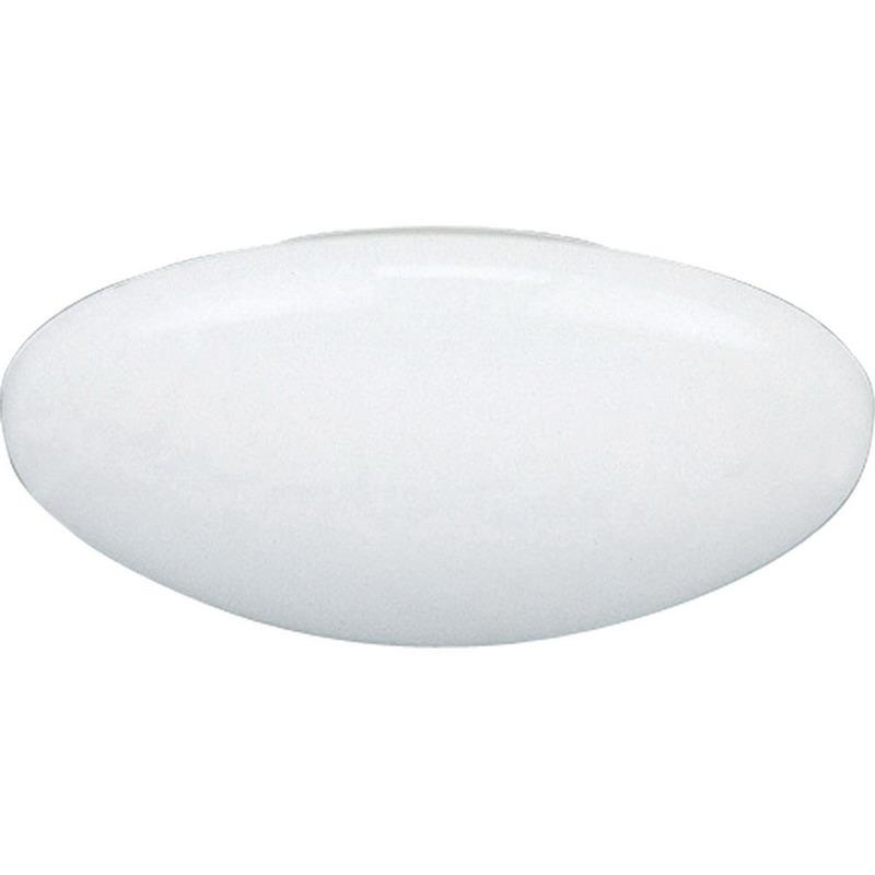 Progress Lighting P8025-60 IC/Non-IC 6 Inch Round Recessed Dome Shower Light Trim 1-Light White