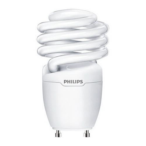Philips Lighting 454207 EL/mdTQS Energy Saver Compact Fluorescent Lamp 18 Watt GU24 Base 1250 Lumens 80 CRI 2700K Warm White