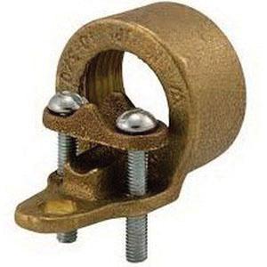 Ilsco Ch 1 Bronze Copper Strap Ground Clamp With Strap