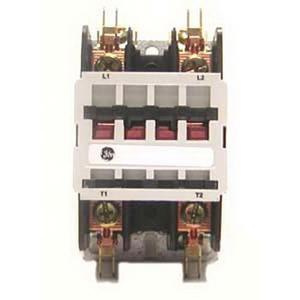 GE Industrial CR553AC2AAA 2 Pole Open Type CR553 Series Full Voltage Definite Purpose Contactor 30 Amp 115 - 120 Volt AC