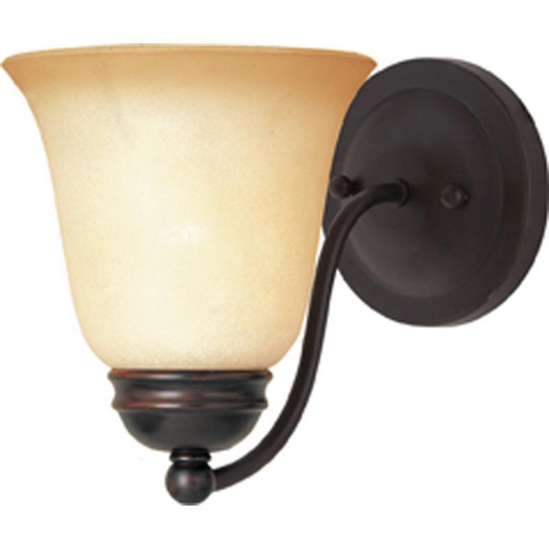 Maxim Lighting 2120WSOI 1-Light Wall Sconce 100 Watt 120 Volt Oil Rubbed Bronze Basix