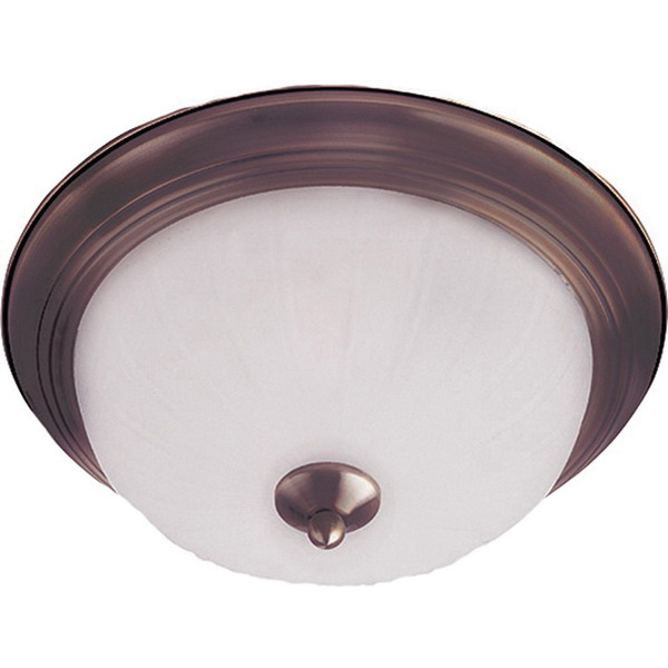 Maxim Lighting 5832FTOI 3-Light Flush Mount Fixture 60 Watt 120 Volt Oil Rubbed Bronze Essentials - 583x Essentials - 583x