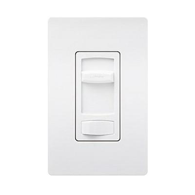 Lutron CTCL-153PH-WH 120 Volt at 60 Hz 1-Pole 3-Way Dimmer White Clamshell Pack Skylark® Contour® CL™